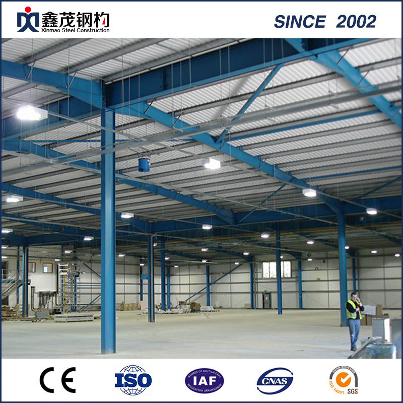Professional China Cheap Metal Garage - Prefabricated Steel Structure Building Construction Workshop – Xinmao ZT Steel