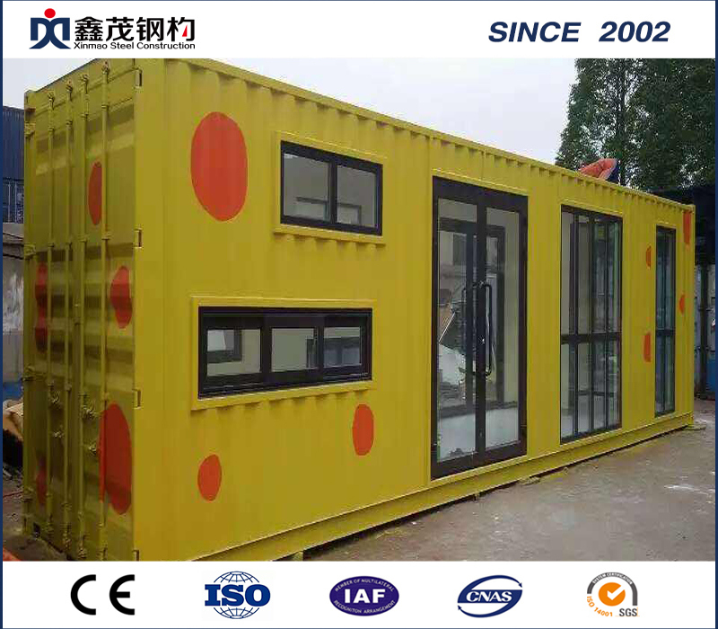 Best-Selling Steel Frame - Shipping Container Homes Modern Design Customized Home in Shipping Container – Xinmao ZT Steel