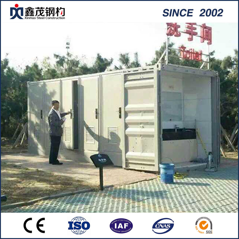 Renewable Design for Steel Building & Structure Co. Ltd - Single Department Cabins Modified Shipping Container House with Fittment – Xinmao ZT Steel