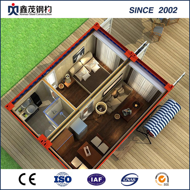 Standard Prefabricated Shipping Container House for Home