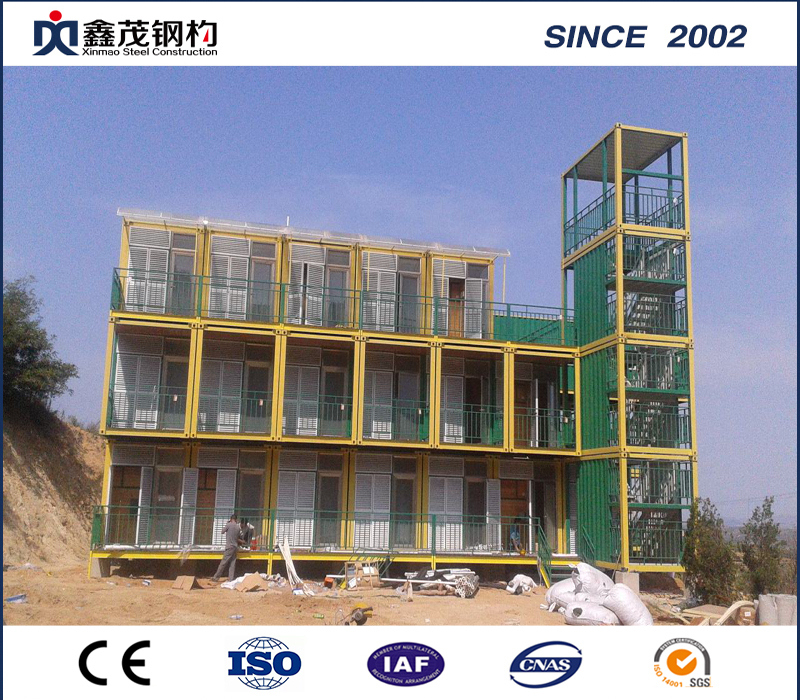 18 Years Factory Prefab Chicken House - Steel Frame Cabin House with Building Materials, Drawing and Easy Installation – Xinmao ZT Steel