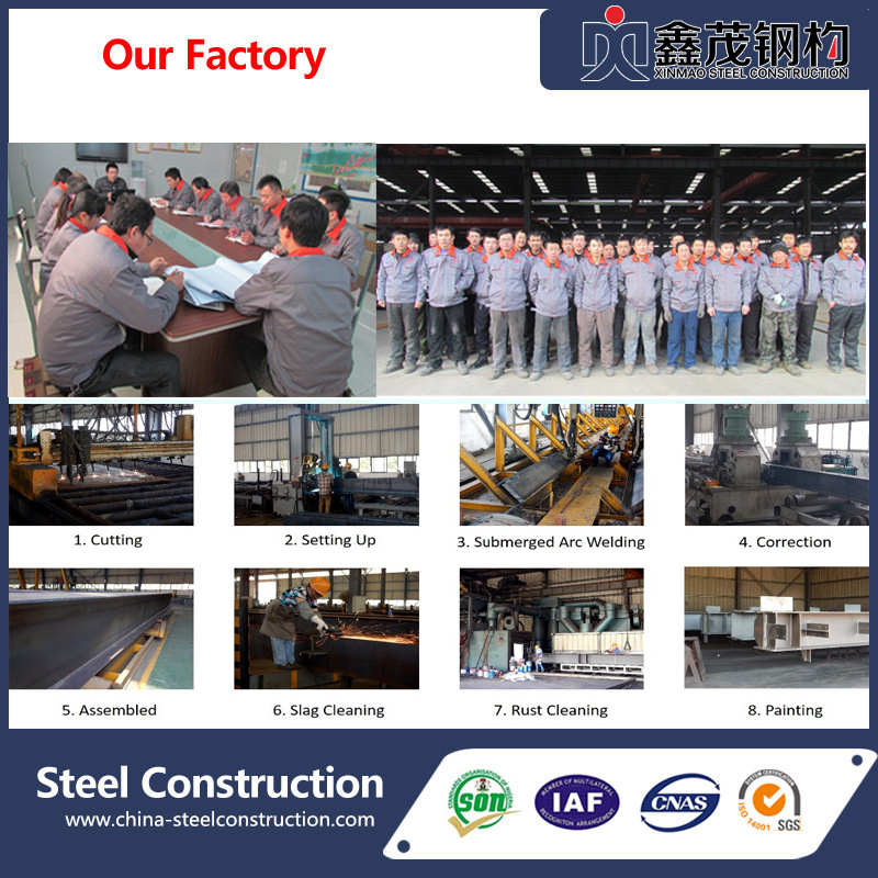 Steel Frame Structure Workshop Buildings