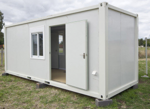 Portable Modular Steel Container House for Single Family