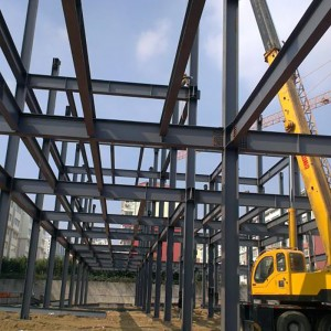 Fabricated steel structure workshops steel structure workshop Use Prefabricated house